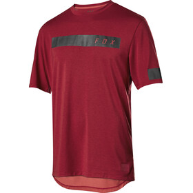 Fox Ranger Dri-Release Bar Bike Jersey Shortsleeve Men red